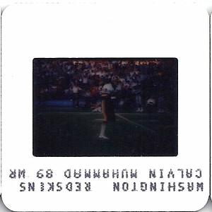 Calvin Muhammad 1985 TV Slides