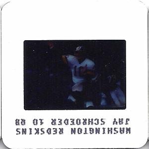 Jay Schroeder 1986 TV Slides