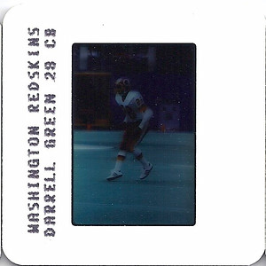 Darrell Green 1986 TV Slides