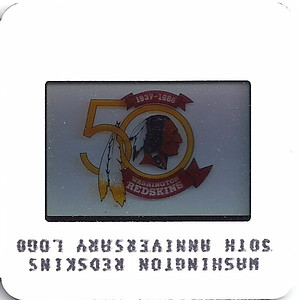 Redskins 50th Anniversary Logo 1986 TV Slides