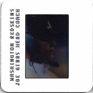 Joe Gibbs 1986 TV Slides