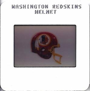 Redskins Helmet 1987 TV Slides