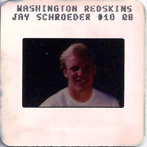 Jay Schroeder 1987 NFL TV Slides