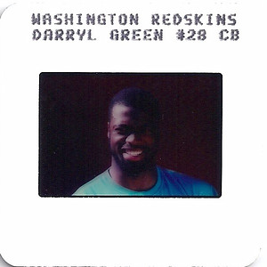 Darrell Green 1987 TV Slides