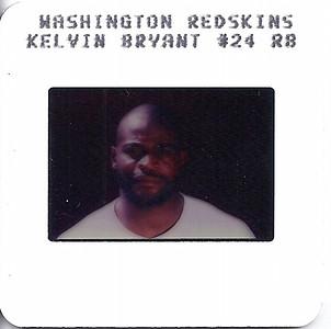 Kelvin Bryant 1987 TV Slides