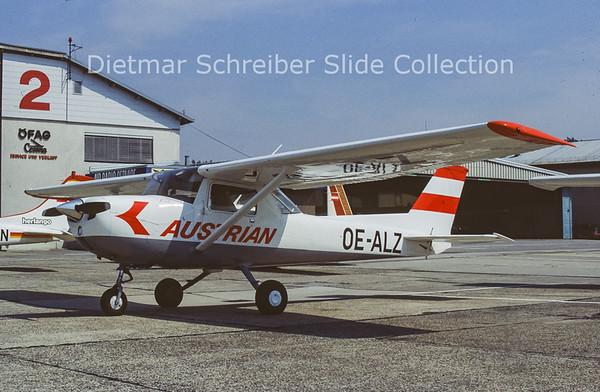 OE-ALZ Cessna 150 Austrian Airlines
