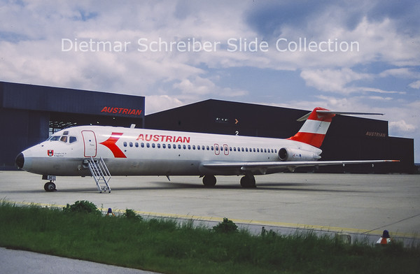 OE-LDH DC9-32 Austrian Airlines