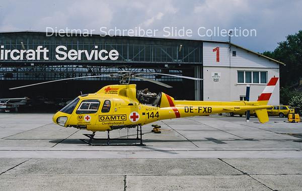 OE-FXB Aerospatiale AS355F (c/n 5252) Heli Air