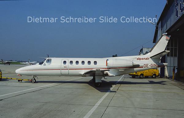 OE-GIN Cessna 550 Citation 2 (c/n 550-0069) Alpenair