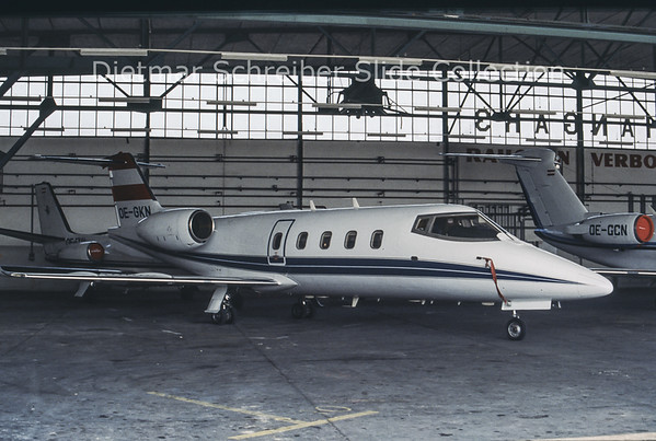 OE-GKN Learjet 55 Transair