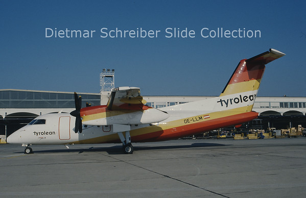 OE-LLM Dash 8-100 Tyrolean