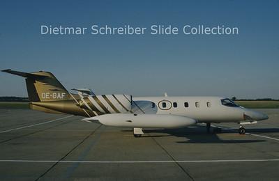 OE-GAF Learjet 35A (c/n 35-382) Alpenair