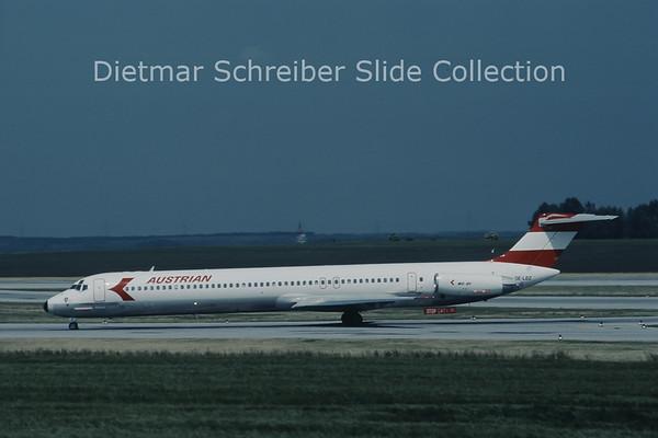 OE-LDZ MDD MD81 (c/n 49164) Austrian Airlines
