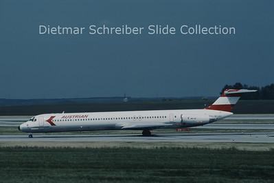 OE-LDZ MD80 Austrian Airlines