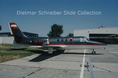 OE-FPH Cessna 501 Citation 1 (c/n 501-0173) Tyrolean Jet Service