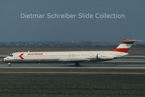 OE-LDX MD80 Austrian Airlines