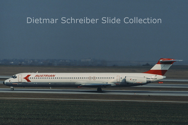 OE-LDW MD80 Austrian Airlines