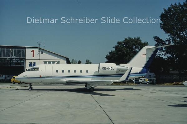 OE-HCL CL600 Viennair