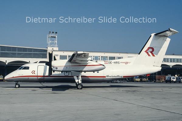 OE-HRS Dash 8-100 Rheintalflug