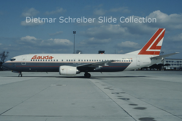 OE-LNH Boeing 737-4Z9 (c/n 25147) Lauda Air