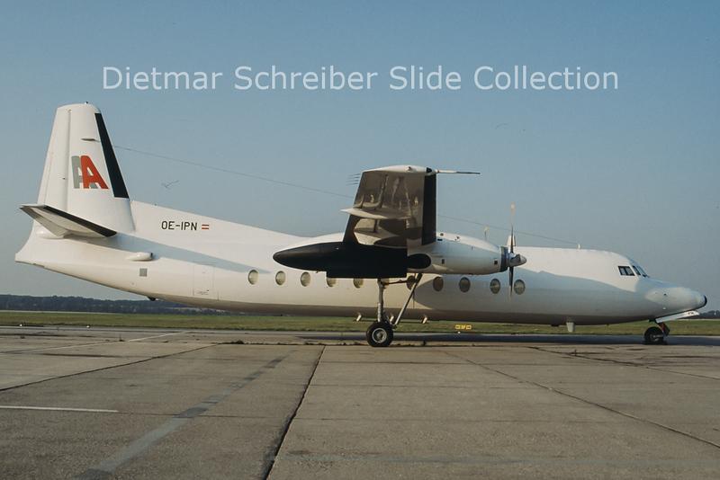 OE-IPN Fokker F27-500 (c/n 10686) Alpenair