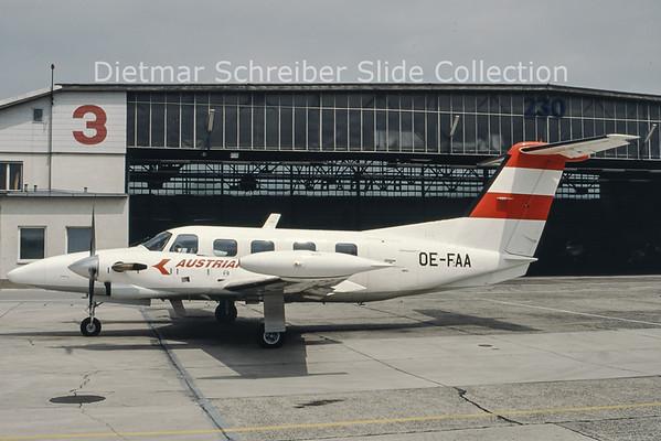 OE-FAA Piper 42-720 (c/n 42-5501057) Austrian Airlines