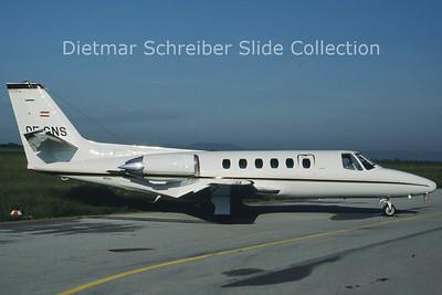 OE-GNS Cessna S550 Citation 2 (c/n S550-0083) Viennair Polsterer Jets