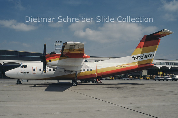 OE-LLU Dash 7 Tyrolean Airways