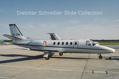 OE-GIW Cessna 550 Citation 2 (c/n 550-0008) Air Salzburg