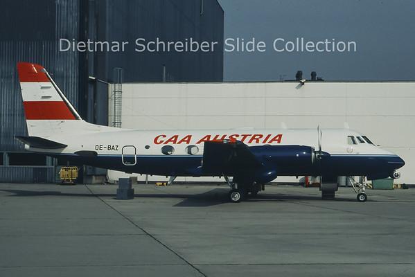 OE-BAZ Gulfstream 1 (c/n 23) Austria - Bundesamt für Zivilluftfahrt