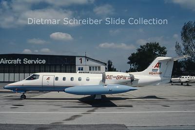 OE-GPN Learjet 35 Alpenair