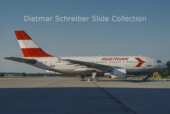OE-LAC Airbus A310 Austrian Airlines