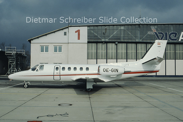 OE-GIN Cessna 550 Citation 2 Alpenair