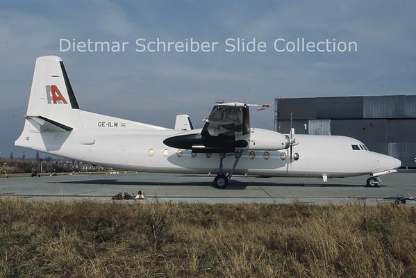 OE-ILW Fokker F27-500 (c/n 10681) Alpenair