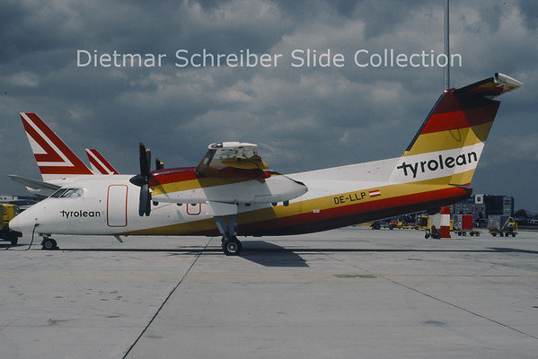 OE-LLP Dash 8-100 Tyrolean Airways