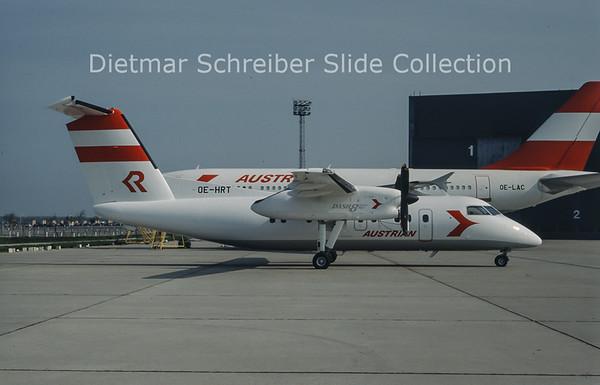 OE-HRT Dash 8-100 Rheintalflug