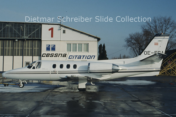 OE-FBA Cessna 501 Citation 1 (c/n 501-0206) Viennair Polsterer Jets