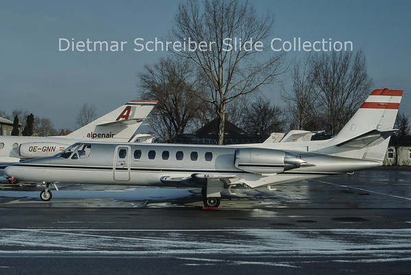 OE-GPS Cessna 560 Citation 5 (c/n 560-0114) Automobilvertriebs Gmbh