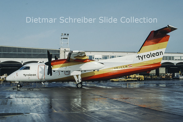 OE-LLH Dash 8-100 Tyrolean Airways