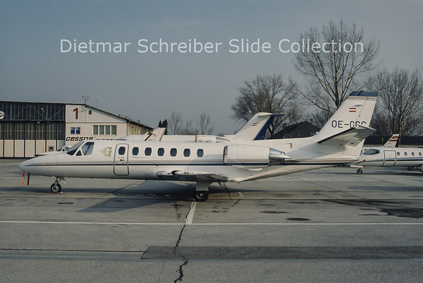 OE-GCC Cessna 560 Citation 5 Goldeckflug