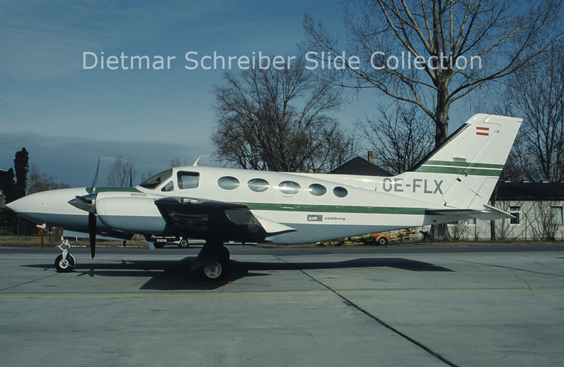 OE-FLX Cessna 421 Air Salzburg