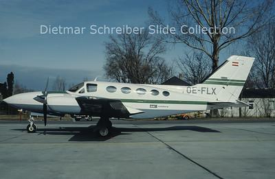 OE-FLX Cessna 421C (c/n 421C-0248) Air Salzburg