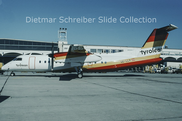 OE-LLV Dash 8-300 Tyrolean Airways