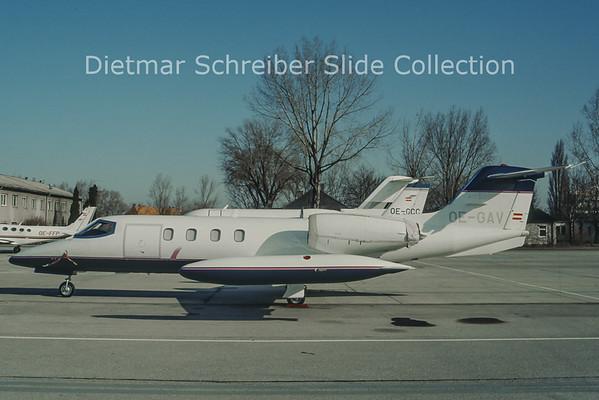 OE-GAV Learjet 35A (c/n 35-185) Tauern Air