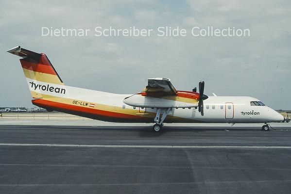 OE-LLW Dash 8-300 Tyrolean Airways