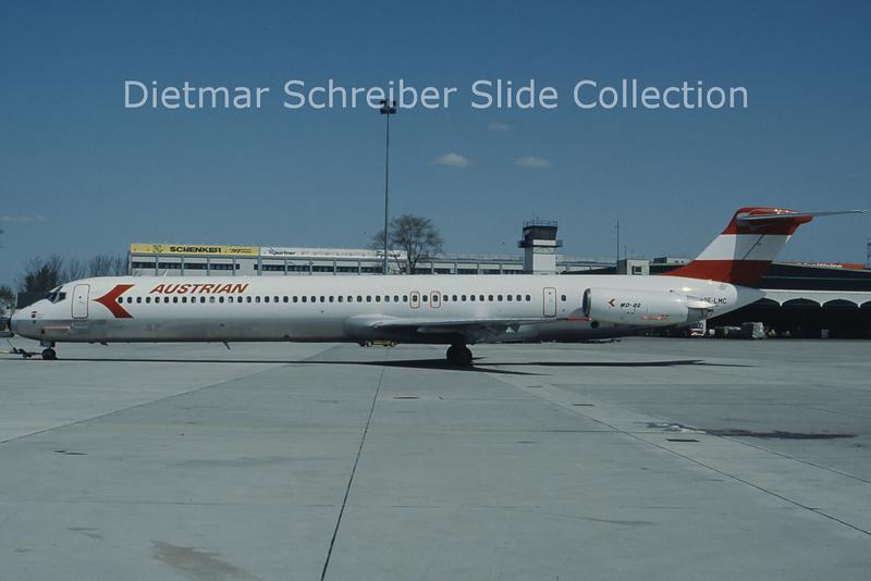 OE-LMC MD80 Austrian Airlines