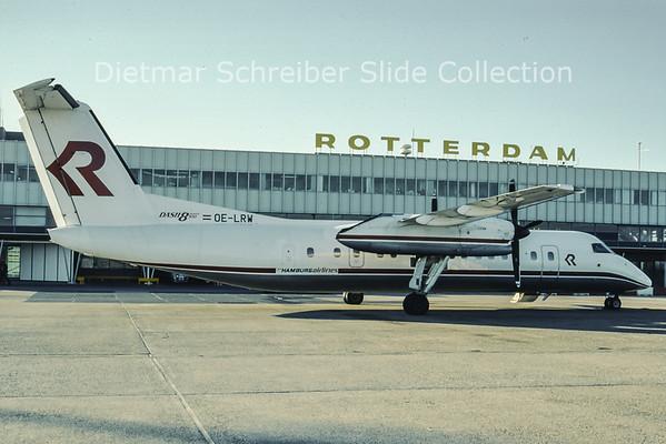 OE-LRW DAsh 8-300 Hamburg Airlines