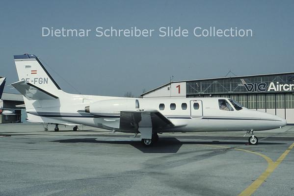 OE-FGN Cessna 500 Citation 1 (c/n 500-0291) Tauern Air