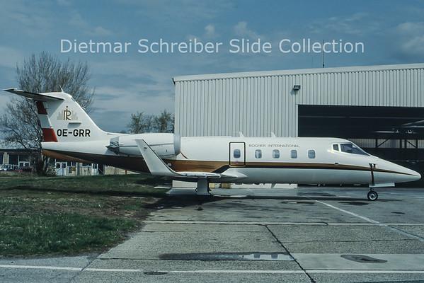 OE-GRR Learjet 55
