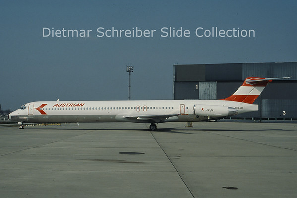 OE-LMD MD80 Austrian Airlines